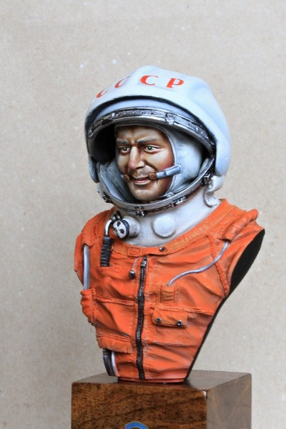 Gherman Titov - Space Adventurer 2+ in SK1 Spacesuit