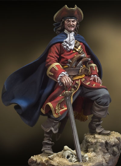 Henry Morgan, Pirate Captain 1670 (54mm)