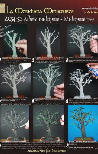 Multipose Tree