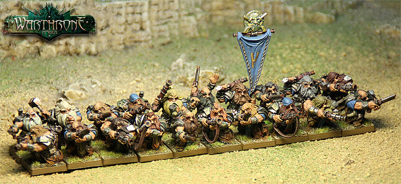 Dwarf Thunder Warriors regiment box