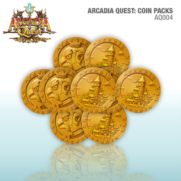 Arcadia Quest: Metal Coin Pack