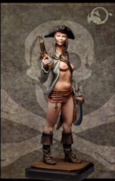Caribbean Pirate Lady I