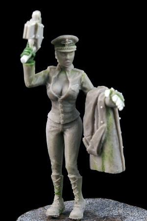 Alexandra, Female Commissar - Resin Limited Edition