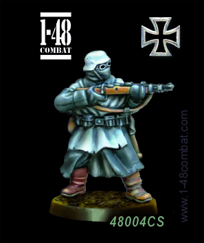 I-48 Combat (32mm WWII): Friedrich ''tank man'' Vogt (German)