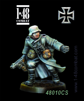 I-48 Combat (32mm WWII): Hans Wolff (German)