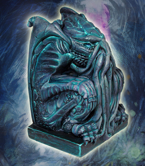 Terrain & Scenery: Statue of Elder God