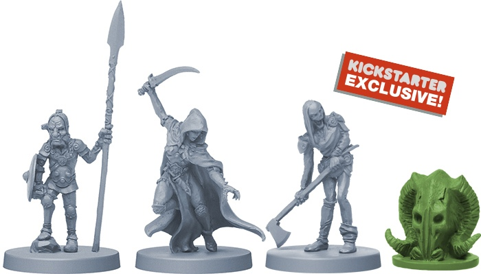 Alternate sculpts and Clan tokens