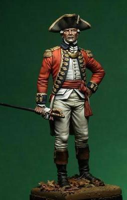 The English Officer - American war of Independence