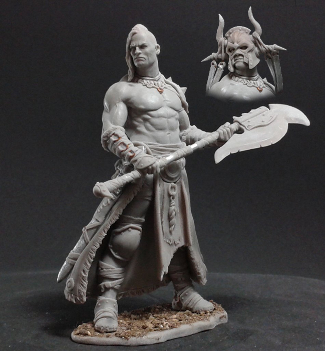 Black Sun Barbarian | Miniset net - Miniatures Collectors Guide