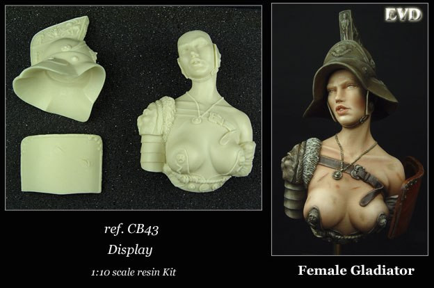 Female Gladiator (bust)