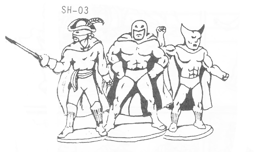 SH-03 Caped Crusaders