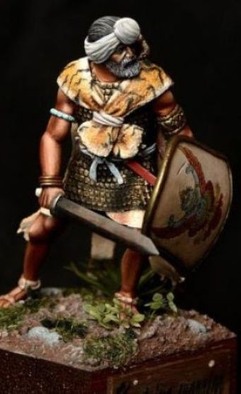 Ksatriya warrior, Ancient India, IV-III century B.C.