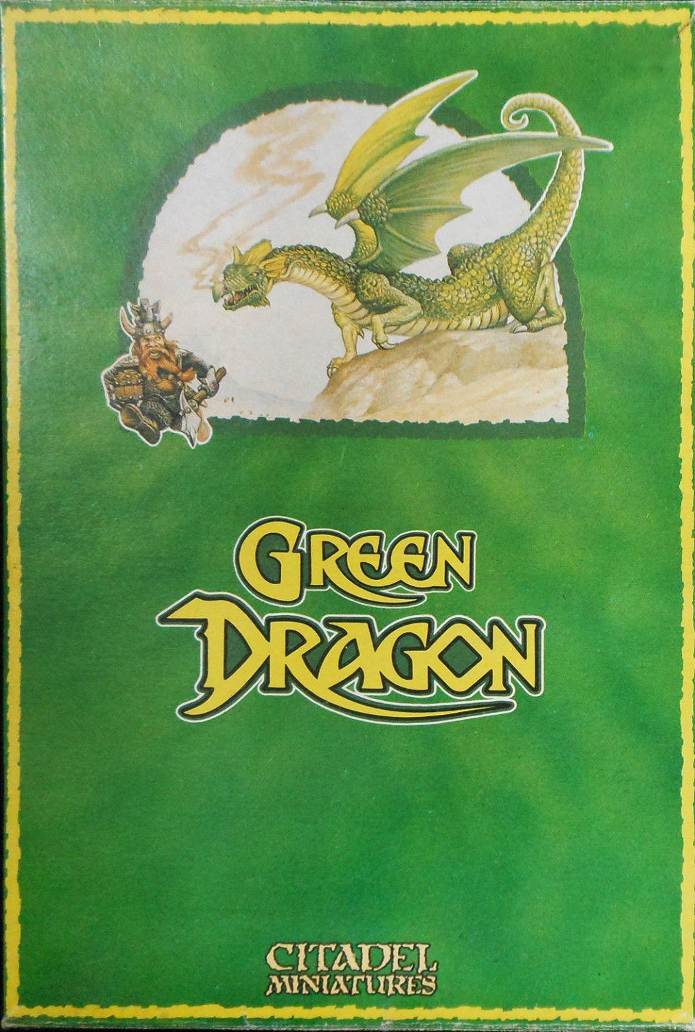 Drag3 - Green Dragon & Dwarf
