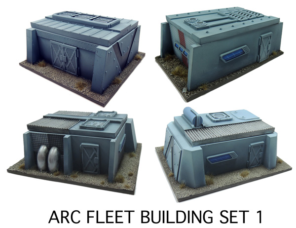 ARC Fleet Building Set 1