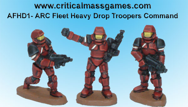 ARC Fleet Heavy Drop Troopers Command