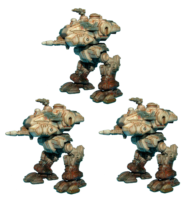ARC Fleet Scout Combat Walker Platoon
