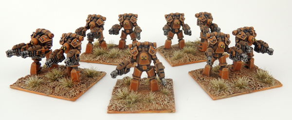 Draco Aganath Maxima Battlesuit Reduced Platoon