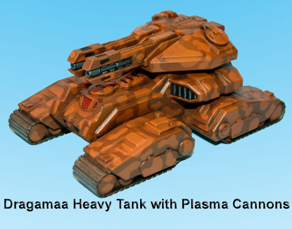 Kaamados Dominion Dragamaa heavy Tank