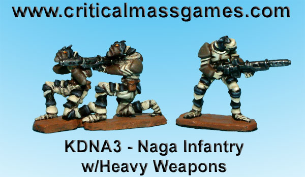 Naga Infantry with Heavy Weapons 1