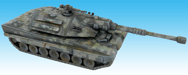 Warmonger Main Battle Tank Tracked Variant