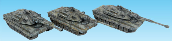 Warmonger Main Battle Tank Tracked Variant Platoon