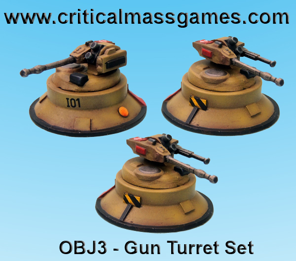 Gun Turret Objective Set