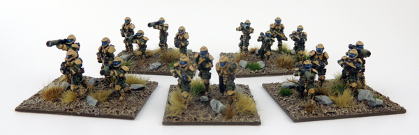 ARC Fleet Recon Infantry Missile Platoon
