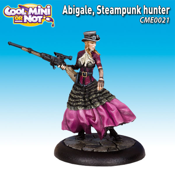 Abigale, Steampunk Hunter