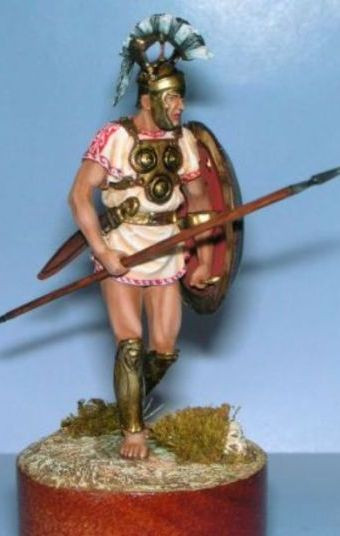 Samnite Warrior, 4-3 Century