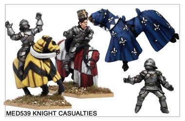 Medieval Knight Casualties