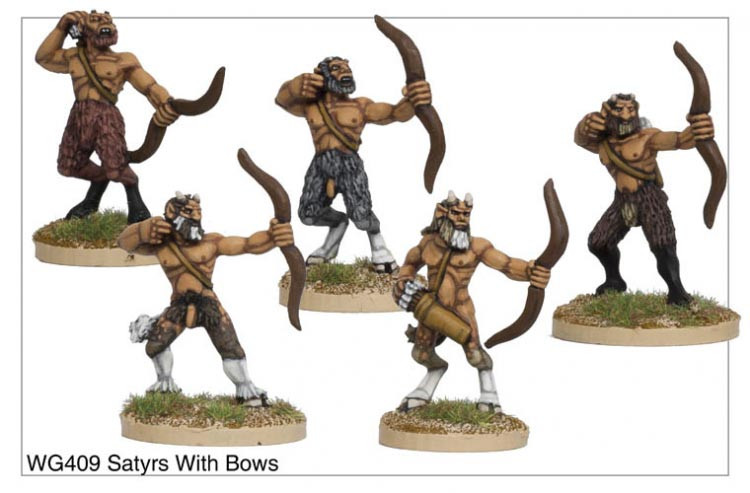 Satyrs with Bows