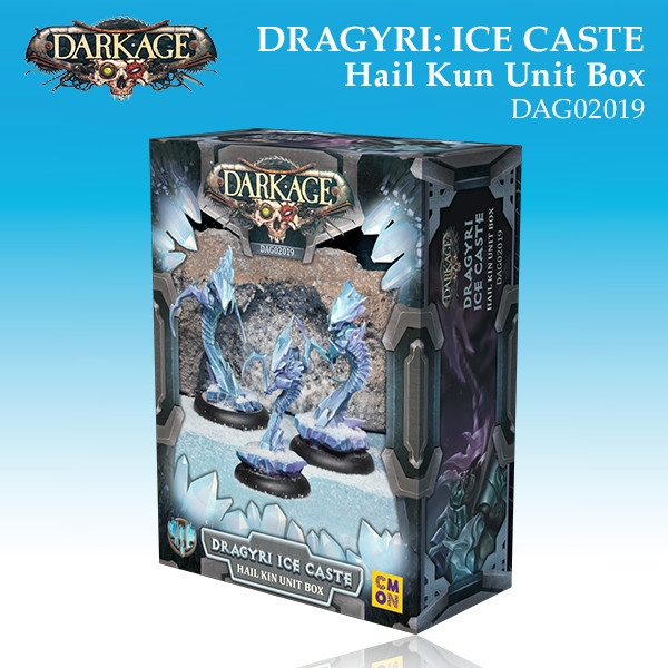 Dragyri Ice Caste Hail Kin Unit Box