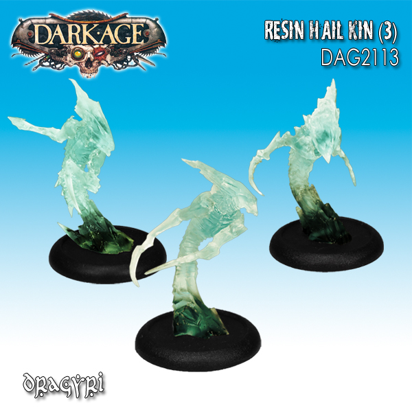 Dragyri Hailkins (Clear blue resin version) (3)