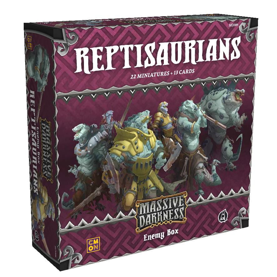 Massive Darkness: Enemy Box: The Reptisaurians
