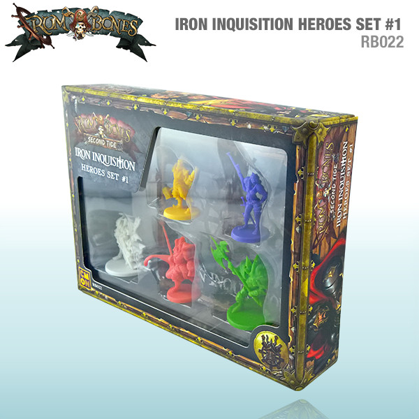 Iron Inquisition Heroes Set #1