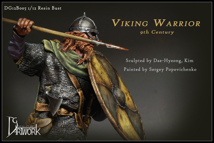 Viking Warrior, 9th Century