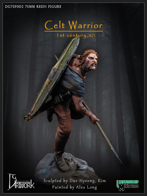 Celt Warrior, 1st c AD
