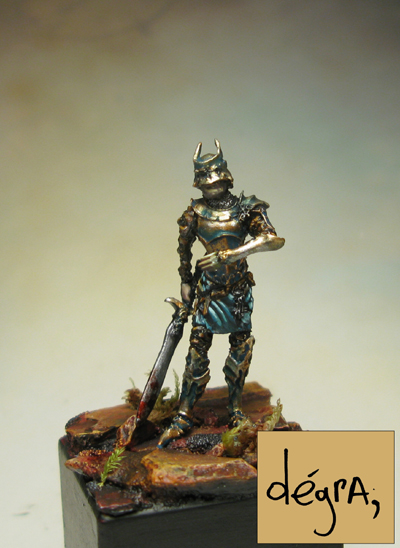 Captain Korylis 32mm Soldier