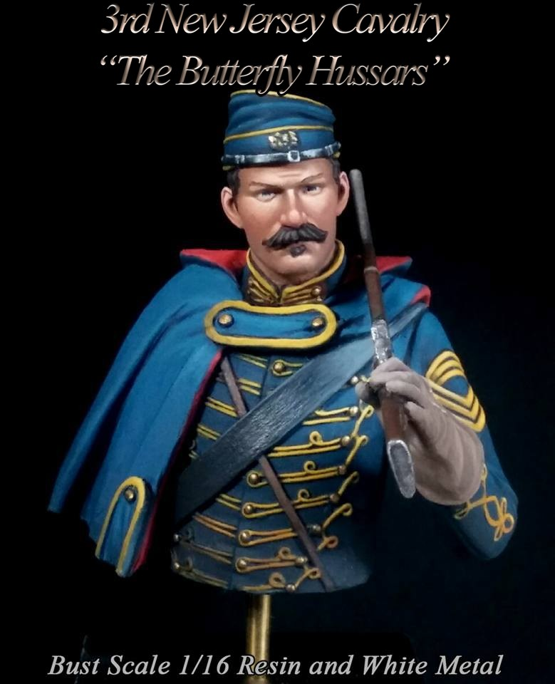 3rd New Jersey Cavalry Bust