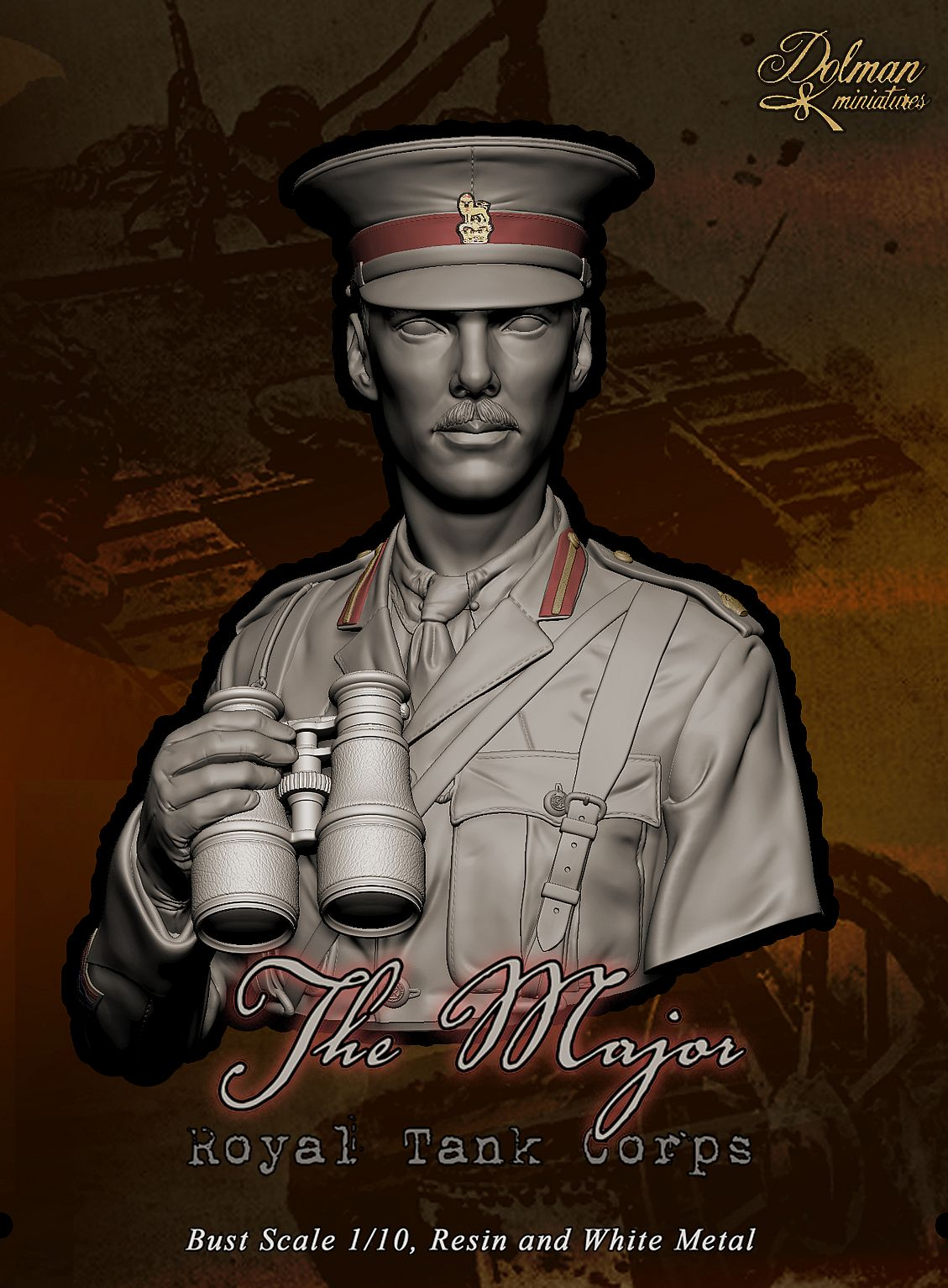 """The Major"", Royal Tank Corps"