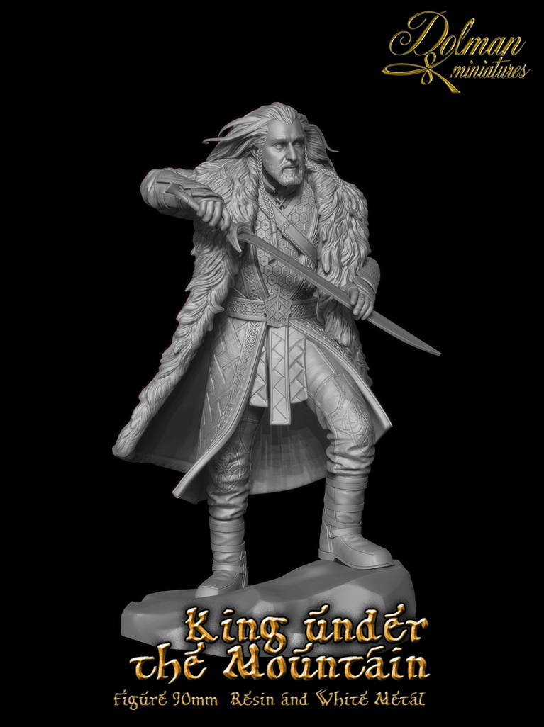 King under the Mountain (90mm)
