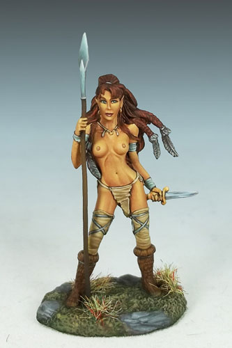 Female Wild Elf Warrior