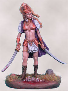 Jinsu Babe - Female Dual Wield Warrior