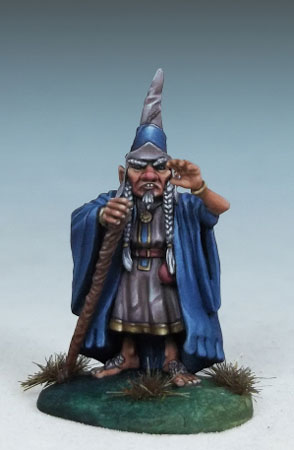 Barty the Magnificent - Halfling Wizard