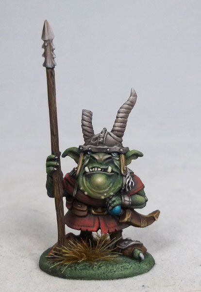 Sluggort - Goblin Warrior with Spear