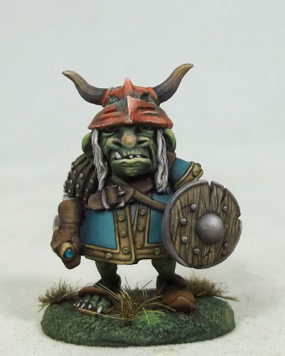 Maggorm - Goblin Warrior with Dagger and Shield