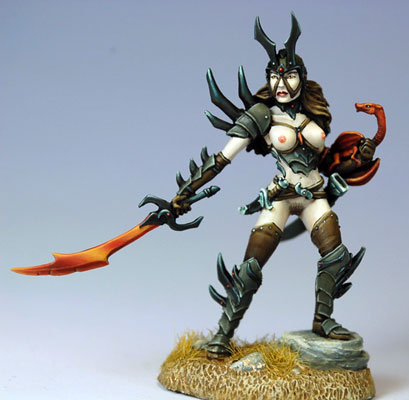 Limited Edition - Naughty Female Anti-Paladin - DSM7505