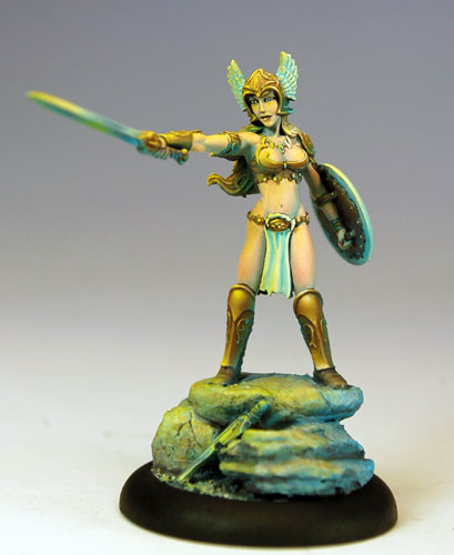 Visions in Fantasy: CMON Limited Edition Classic Female Barbarian