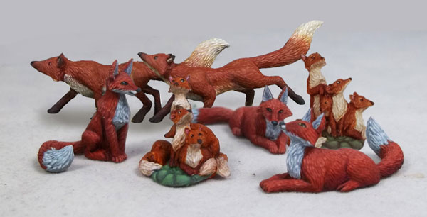 Fox Pack - 7 Pieces