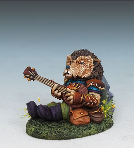 Hedgehog Bard with Lute